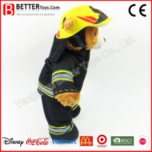Plush Animal Fireman Teddy Bear Soft Toy for Kids pictures & photos