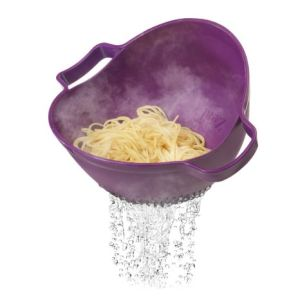 Drain & Serve Colander PP Kitchen Strainer pictures & photos