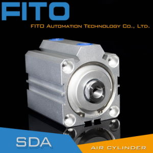 Compact Thin Type Aluminum Pneumatic Cylinder pictures & photos