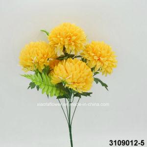 Artificial/Plastic/Silk Flower Mum Bush (3109012-5) pictures & photos