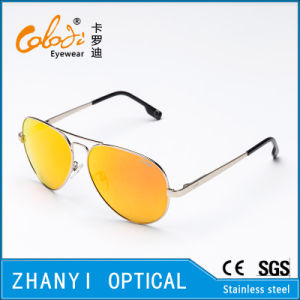 Fashion Colorful Metal Sunglasses for Driving with Polaroid Lense (3025-C4)