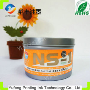 Fluorescent Pantone P804c Orange, High Glossy Drying Fast Offset Printing Ink Environmental Protection (Globe Brand)
