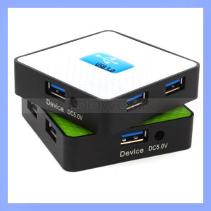 4 Ports USB Hub High Speed USB 3.0 Hub for PC Laptop (Hub-415) pictures & photos