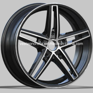 20 Inch Matte Black Mag Rims Alloy Wheels pictures & photos