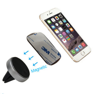 Universal Air Vent Magnetic Car Mount Holder with Iron Piece for Phone pictures & photos