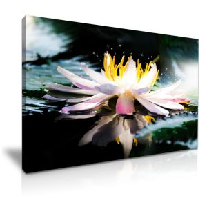 Lotus Flower Wall Art china lotus flower canvas printed painting for wall art decor