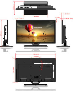 "19"" Wide Screen TV/19′ LED TV/19"" TV Set pictures & photos"