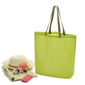 Polyester Bag with Webbing Handle for Promotion and Shopping pictures & photos