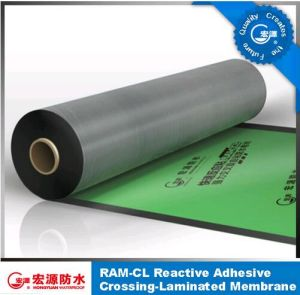 Self Adhesive Waterproof Membrane /HDPE Film Tensile Sticky Felt (ISO) pictures & photos