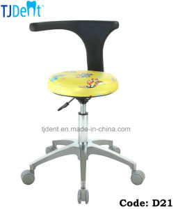Children Dental Chair Dentist Chair Doctor Stool (D21) pictures & photos
