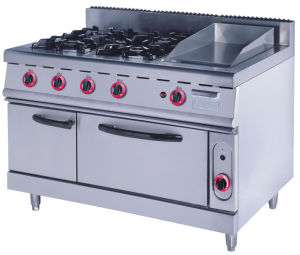 900 & 700 Range- Burners With Griller pictures & photos