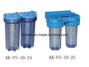 2 Stage Water Filter Housing Kk-Fs-10-24 pictures & photos