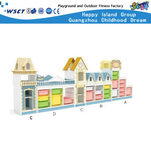 Kindergarten Large Storage Cabinet Wooden Furniture Hc-3305 pictures & photos