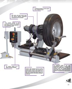 Fsd-L5088 Item Name: Large Tyre Dismounting Machine pictures & photos