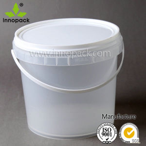 Clear Transparent Plastic Pail pictures & photos