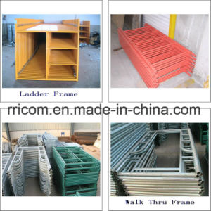 Painting and Powder Coated Scaffolding Frames pictures & photos
