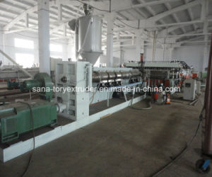 PP/PE/PC Hollow Grid Plastic Board Extrusion Production Line pictures & photos