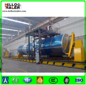 Chinese Aluminum Alloy 60000 Liters 3 Axle Fuel Tank Truck Semi Trailer for Sale pictures & photos