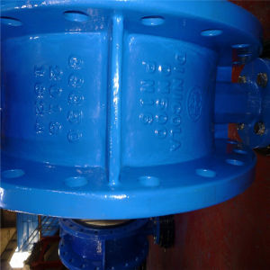 Dn40-Dn2400 Double Flanged Butterfly Valve pictures & photos