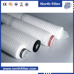 Pleat Water Filter Cartridge for Chemical Industry pictures & photos