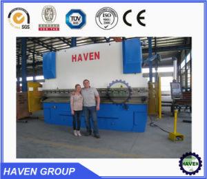 WE67K-250X3200 CNC Electric Hydraulic Synchronization Hydraulic Press Brake pictures & photos