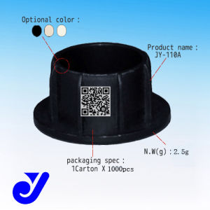 Jy-110A|Plastic Pipe Cover|Lean Tube Fitting|Pipe Seal-Capping|Black Fitting