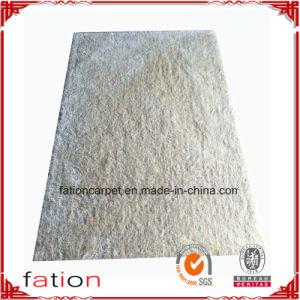 Super Soft White Plain Color Handmade Area Rug Bedroom Shaggy Carpet