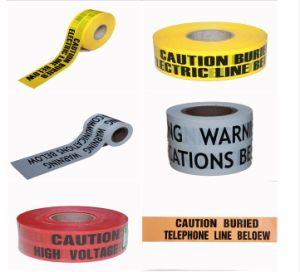 Road Safety Warning Tape, Yellow Caution Tape pictures & photos