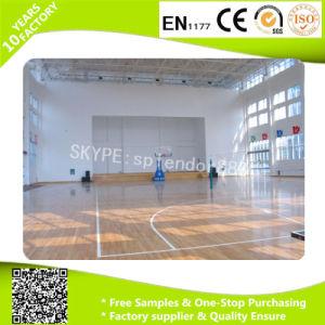 Durable Anti-Slip PVC Basketball Court Used Vinyl Flooring Rolls pictures & photos