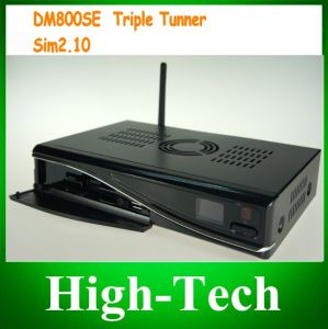 DVB Dm800se Triple Tuner T2 Set Top Box Satallite Receiver, Dm800se-S/C/T HD PVR