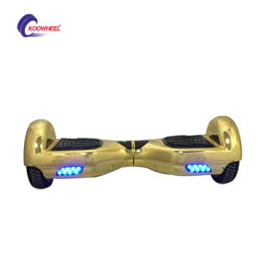 Electroplating 2 Wheel Smart Self Balancing Scooter Hoverboard Plating Electric Scooter pictures & photos