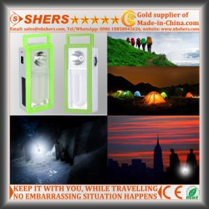 Rechargeable 22 LED Solar Emergency Light with 1W Flashlight (SH-1903B) pictures & photos
