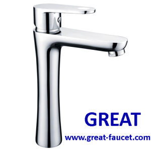 modern Tall Basin Faucet with 5-Year Guarantee pictures & photos