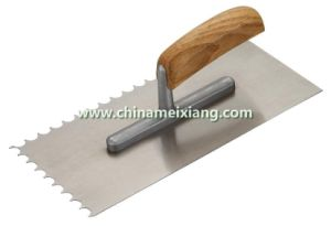Notch Trowel, Finish Trowel, Gauging Trowel (MX9004) pictures & photos