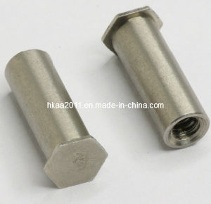 Brass Self-Clinching Blind Hexagonal Electrical Standoff Screw Fastener pictures & photos
