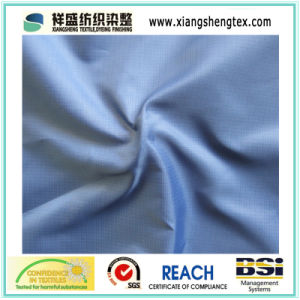 100% Polyester Rip-Stop Ultrathin Pongee Fabric for Down Garment pictures & photos