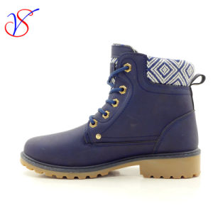 2017 New Style Injection Man Women Safety Working Work Boots Shoes for Job (SVWK-1609-016 BLUE) pictures & photos