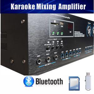 Digital Karaoke Amplifier Mixer Bluetooth SD Card USB Slot 250 X 250W pictures & photos
