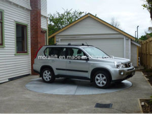 Narrow Limited Access Outdoor Driveway Parking Rotating Car Turntable pictures & photos