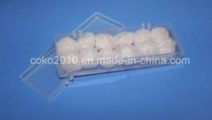 Natural Wax Cotton Earplugs for Swimming pictures & photos