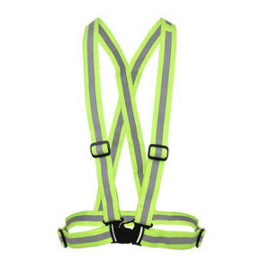 Reflective Bond Securicity Vest with PVC Tape pictures & photos