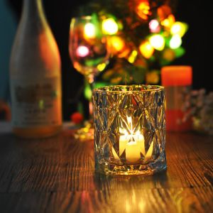 Crystal Straight Popular Candle Jar pictures & photos