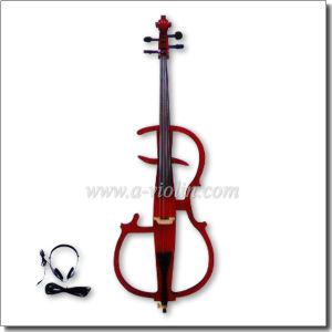 4/4 Hand Carved Solidwood Colorful Electric Cello (CE110B) pictures & photos
