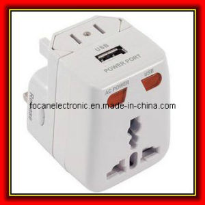Multifunction Travel Adapter with USB pictures & photos