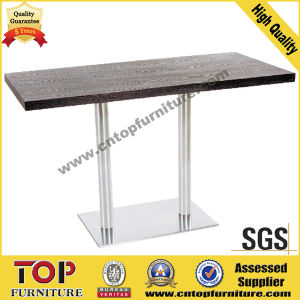 Rectangular Stainless Steel Coffee Dining Table pictures & photos