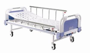 Semi-Fowler Manual Patient Bed with Single Crank (XH-D-3) pictures & photos