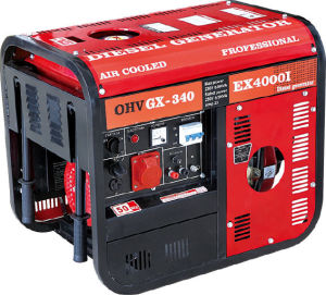 3gf-Lh03 Air Cooled Portable Diesel Generator with CE (3KW)