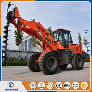 Post Hole Digger Auger 2.5ton - 3ton Wheel Loader with Competitive Price pictures & photos