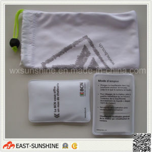 Sunglasses Microfiber Pouch with Screen Printing Logo pictures & photos