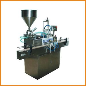 Automatic Double-Nozzles Paste Piston Filler (DR012QG)
